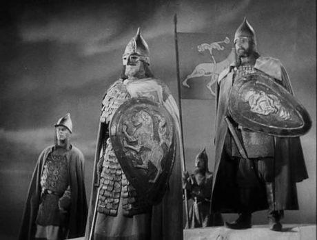 Князь Александр перед битвой