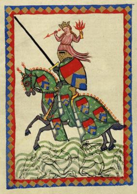 Ульрих фон Лихтенштейн, Манесский кодекс