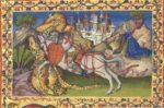 Святой Георгий и дракон. Бревиарий Мартина Арагонского