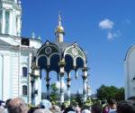 Сень над крестом. Троице-Сергиева лавра, 18.07.2012.